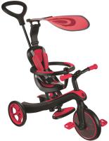 Детский велосипед с ручкой Globber Explorer 632-102 (красный) -