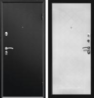 Входная дверь Промет Форте черный муар (205x88, правая) -