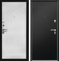 Входная дверь Промет Форте черный муар (205x98, левая) -