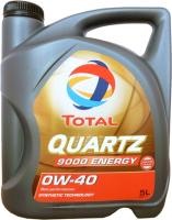Моторное масло Total Quartz 9000 Energy 0W40 / 213989 (5л) -