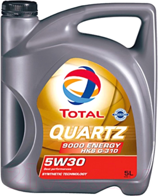 Моторное масло Total Quartz 9000 Energy HKS 5W30 / 213800 (5л)