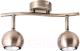 Спот Arte Lamp Brad Track A6253PL-2AB -