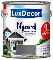 Антисептик для древесины LuxDecor Njord Вулканический пляж (2.5л) -