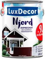 Антисептик для древесины LuxDecor Njord Ладья викингов (10л) -