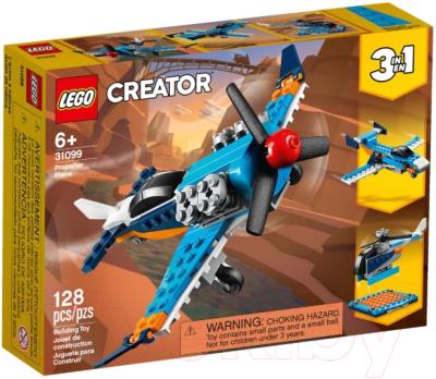 Конструктор Lego Creator Винтовой самолет 31099 конструктор lego creator 40460 розы