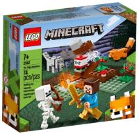 Конструктор Lego Minecraft Приключения в тайге 21162 -