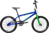 Велосипед Black Aqua Х-Jump 20 GL-603V (синий/зеленый) -