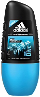 Антиперспирант шариковый Adidas Ice Dive Anti-Perspirant Roll-On (50мл) -