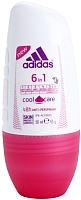 Антиперспирант шариковый Adidas Cool&Care 6 в 1 48ч (50мл) -