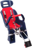 Детское велокресло SunnyWheel SW-BC-137 / X69808 (синий/красный) -