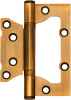 Петля дверная Avers Универсальная 100x75x2.5-B2 (бронза) -