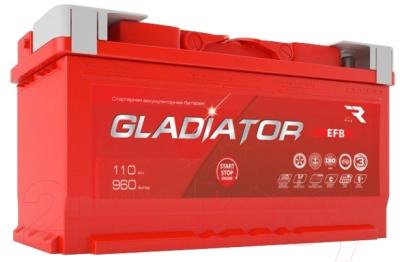 Автомобильный аккумулятор Gladiator EFB R+