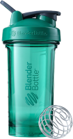 Шейкер спортивный Blender Bottle Pro 24 Tritan Full Color / BB-PR24-FCEG (изумрудный зеленый) -