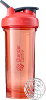 Шейкер спортивный Blender Bottle Pro 28 Tritan Full Color / BB-PR28-FCCO (кораловый) -