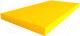 Гимнастический мат Юный Атлет 0.5x1x0.1м (желтый) -