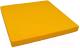 Гимнастический мат Юный Атлет 1x1x0.1м (желтый) -