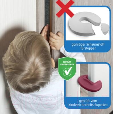 Дверной стоппер Reer 9070044 (ягодно-красный)