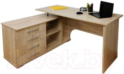 Компьютерный стол Тэкс Грета-16 левый