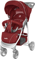 Детская прогулочная коляска Baby Tilly Twist T-164 (Flame Red) -