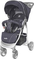 Детская прогулочная коляска Baby Tilly Twist T-164 (Grease Grey) -