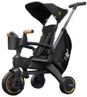 Детский велосипед с ручкой Simple Parenting Doona Liki Trike S5 (Nitro Black) -