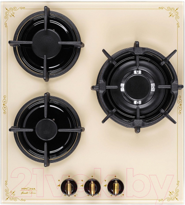 Газовая варочная панель Krona Anima 45 IV / 00026348 газовая варочная панель krona tordo 45 ix