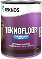 Краска Teknos Teknofloor Aqua Base 3 (900мл, прозрачный) -