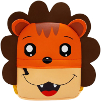 Детский рюкзак Sun Eight Лев SE-YT001-A3 (оранжевый/коричневый) -