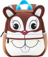 Детский рюкзак Sun Eight Белка / SE-sp006-09 (коричневый/белый) -