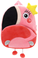 Детский рюкзак Sun Eight Фламинго / SE-sp002-32 (розовый/красный/черный) -