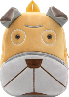 Детский рюкзак Sun Eight Шарпей / SE-sp002-25 (коричневый/серый) -