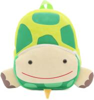 Детский рюкзак Sun Eight Черепаха / SE-sp002-18 (зеленый/бежевый) -