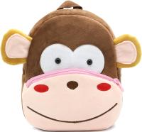 Детский рюкзак Sun Eight Обезьяна / SE-sp002-06 (розовый/коричневый) -