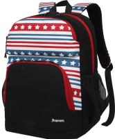 Рюкзак Sun Eight SE-APS-5002 (черный/белый/красный/синий) -