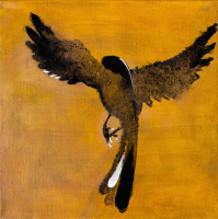 Авторская картина ХO-Gallery Птица 22 / АГ–2020–003 -