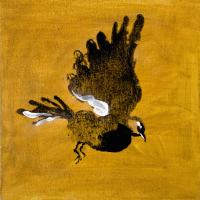 Авторская картина ХO-Gallery Птица 24 / АГ–2020–005 -