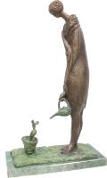 Скульптура ХO-Gallery Цветочница / ОС–2020–005 -