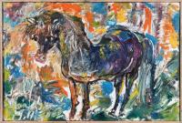 Авторская картина ХO-Gallery Дикая лошадь / НЧ–2020–004 -
