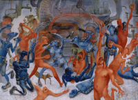 Авторская картина ХO-Gallery Выход / ИТ–2020–009 -
