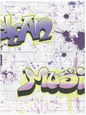 Бумажные обои Белобои Граффити С1-МО к-4