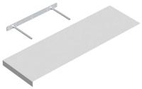 Полка Domax FS 80/24 BI / 651101 (795x235, белый) -