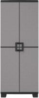 Шкаф уличный Keter UP  / 241066 (серый/черный) -