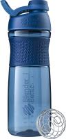 Шейкер спортивный Blender Bottle SportMixer Tritan Twist Cap / BB-ST28-FCNA (темно-синий) -