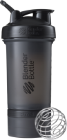 Шейкер спортивный Blender Bottle ProStak Full Color / BB-PRSK-FBLK (черный) -