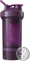 Шейкер спортивный Blender Bottle ProStak Full Color / BB-PRSK-FPLU (сливовый) -