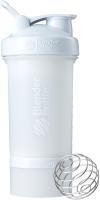 Шейкер спортивный Blender Bottle ProStak Full Color / BB-PRSK-FWHI (белый) -