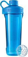 Шейкер спортивный Blender Bottle Radian Tritan Full Color / BB-RT-CYAN (бирюзовый) -