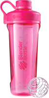 Шейкер спортивный Blender Bottle Radian Tritan Full Color / BB-RT-PINK (малиновый) -