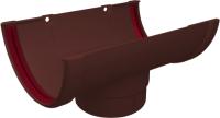 Воронка водостока Grand Line Стандарт ПВХ (шоколадный) -