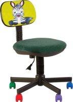 Кресло детское Nowy Styl Bambo GTS MB55 (FN Zebra) -